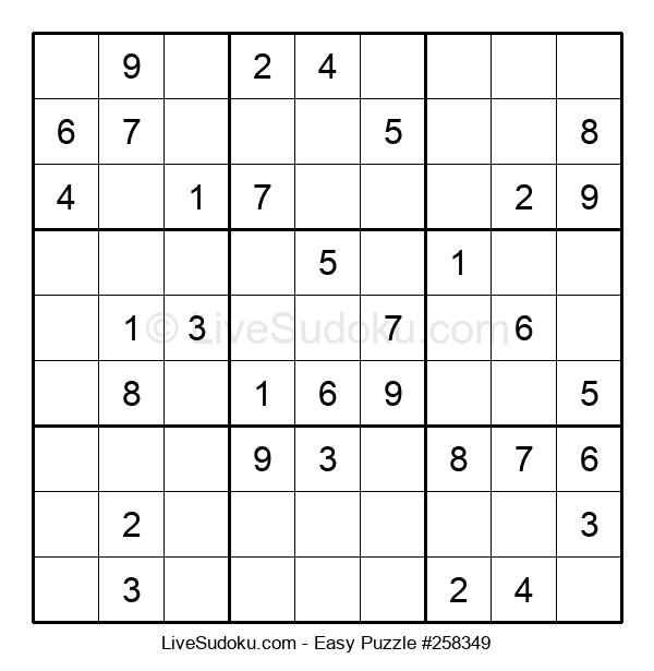 Beginners Puzzle #258349