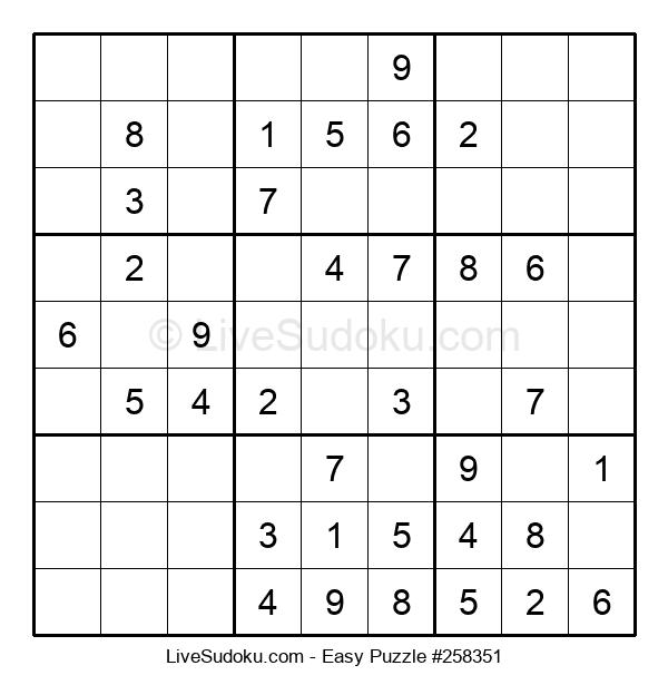 Beginners Puzzle #258351