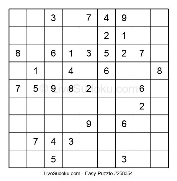 Beginners Puzzle #258354