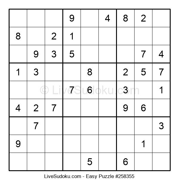 Beginners Puzzle #258355