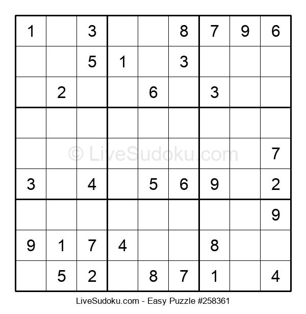 Beginners Puzzle #258361
