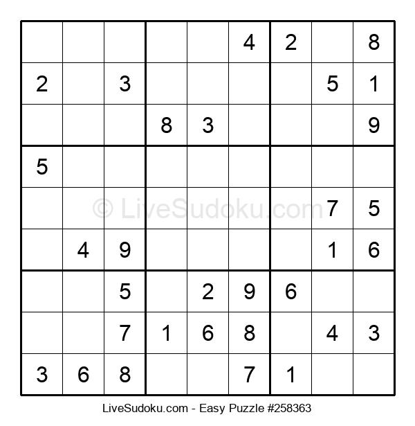 Beginners Puzzle #258363