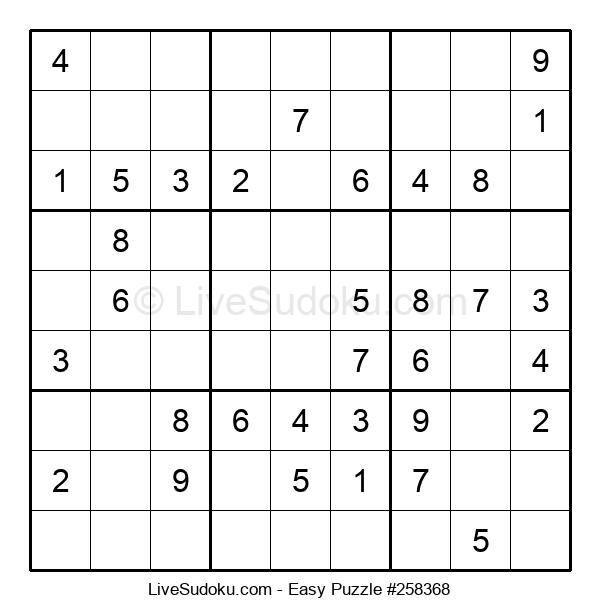 Beginners Puzzle #258368