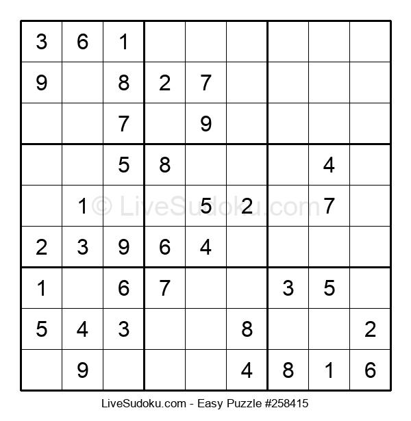 Beginners Puzzle #258415