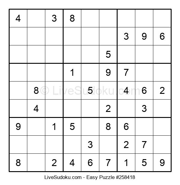 Beginners Puzzle #258418