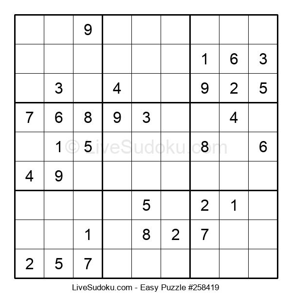 Beginners Puzzle #258419