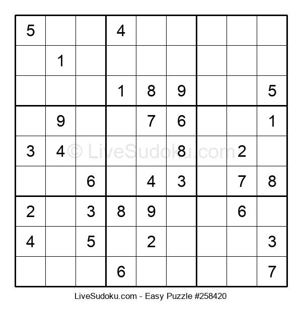 Beginners Puzzle #258420