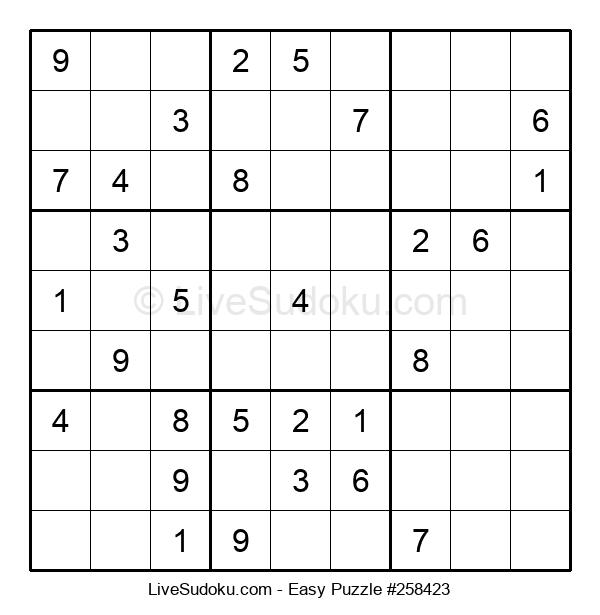 Beginners Puzzle #258423