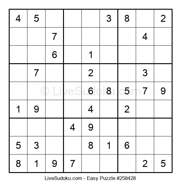 Beginners Puzzle #258428