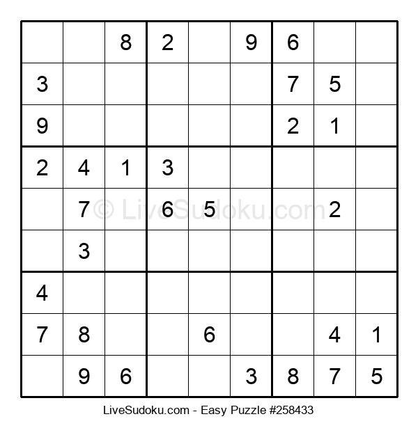 Beginners Puzzle #258433