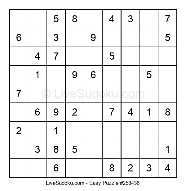 Beginners Puzzle #258436