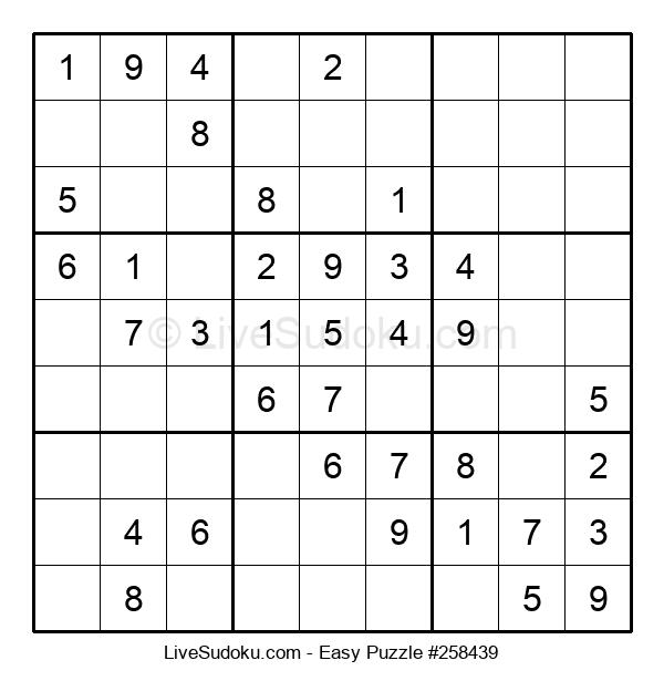 Beginners Puzzle #258439
