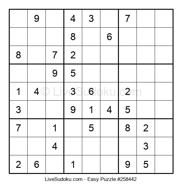 Beginners Puzzle #258442