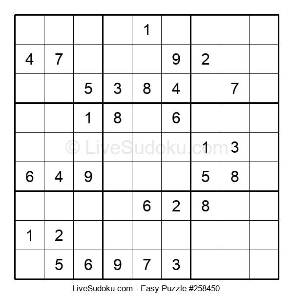 Beginners Puzzle #258450