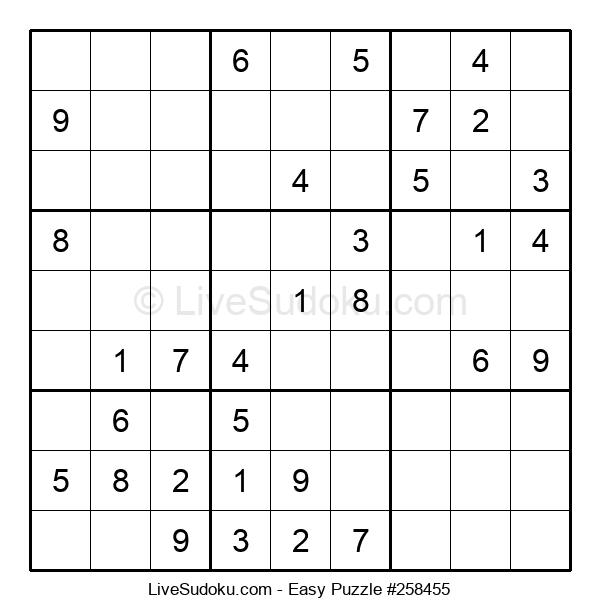 Beginners Puzzle #258455