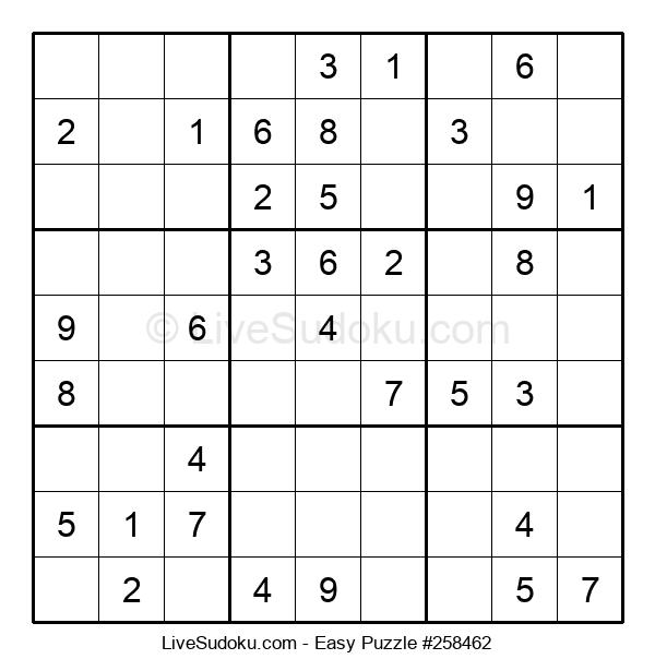 Beginners Puzzle #258462
