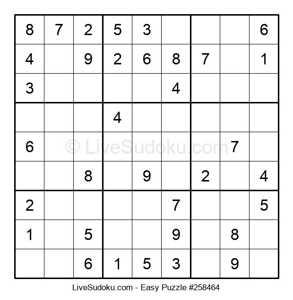 Beginners Puzzle #258464