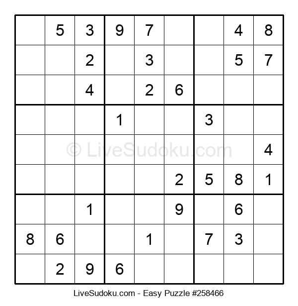 Beginners Puzzle #258466