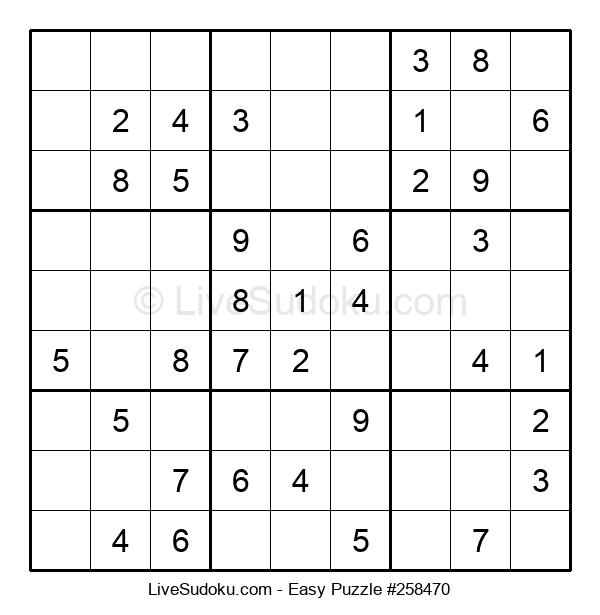 Beginners Puzzle #258470