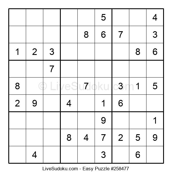 Beginners Puzzle #258477