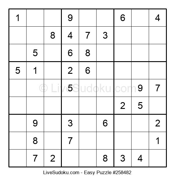 Beginners Puzzle #258482