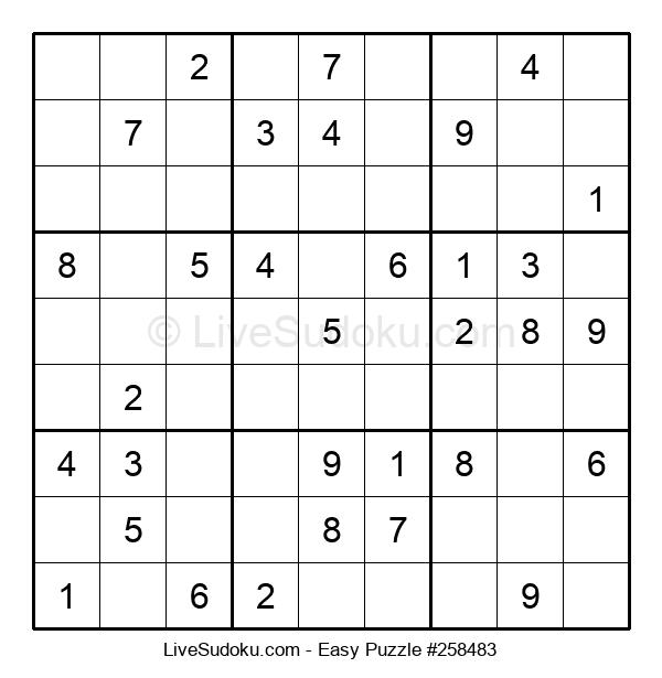 Beginners Puzzle #258483