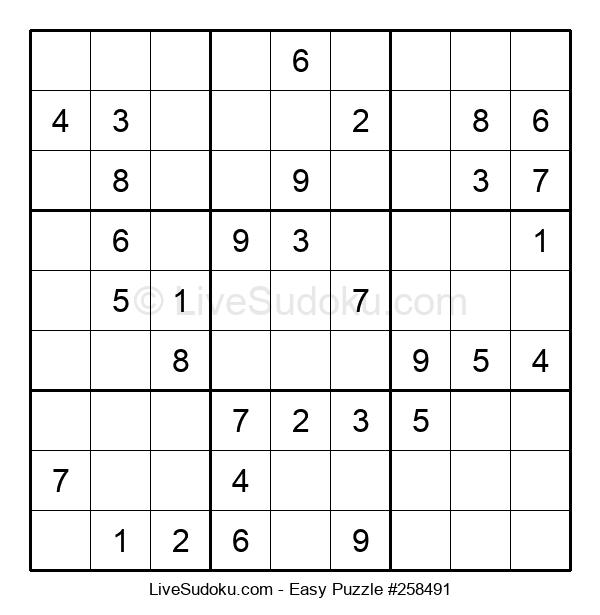Beginners Puzzle #258491