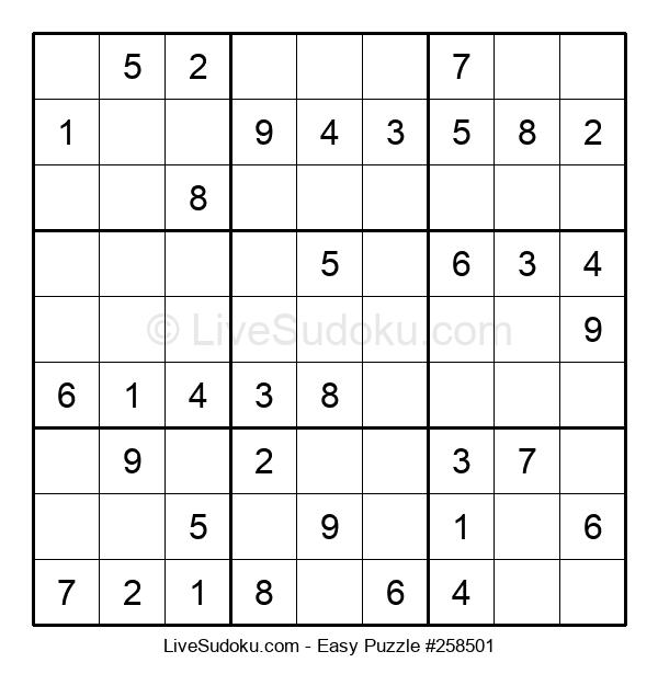 Beginners Puzzle #258501