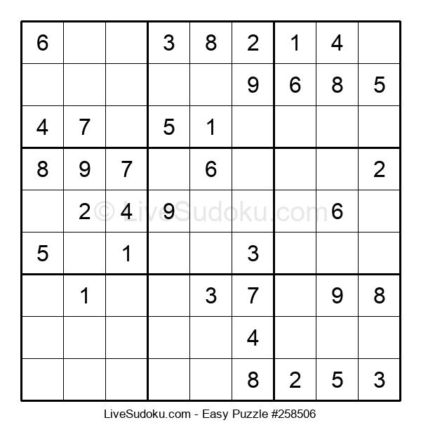 Beginners Puzzle #258506
