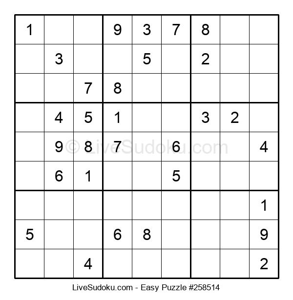Beginners Puzzle #258514