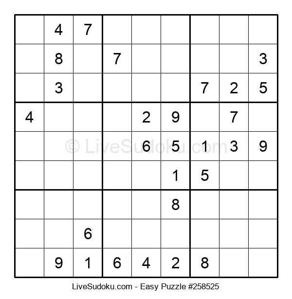 Beginners Puzzle #258525