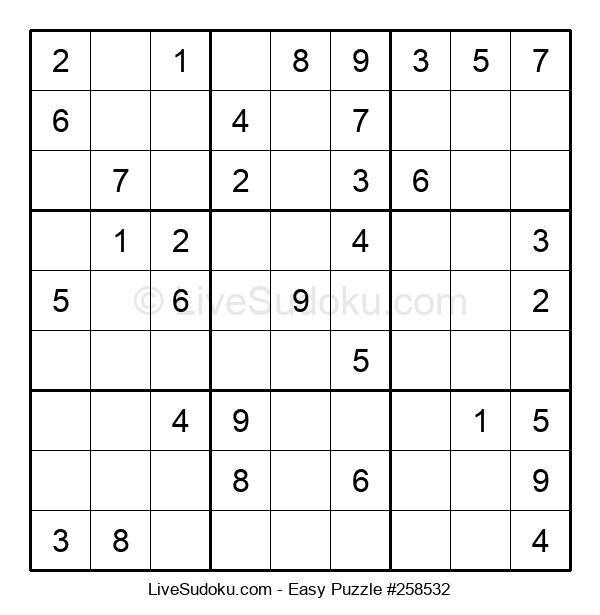Beginners Puzzle #258532