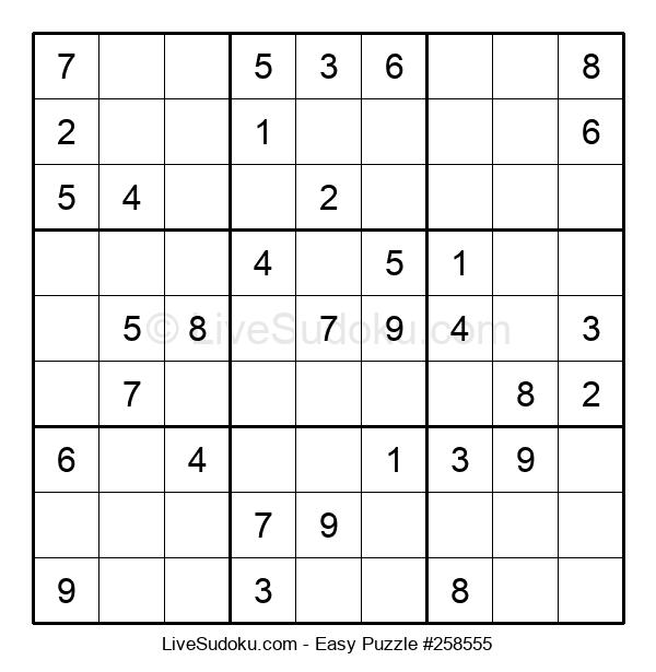 Beginners Puzzle #258555