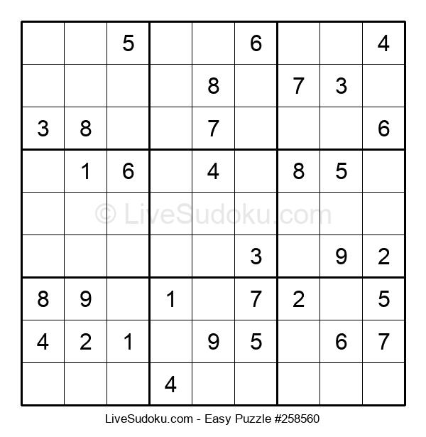 Beginners Puzzle #258560