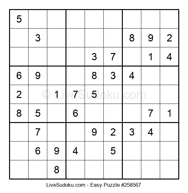 Beginners Puzzle #258567
