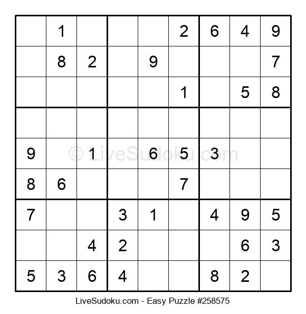 Beginners Puzzle #258575