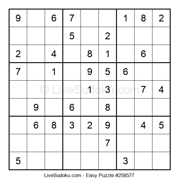 Beginners Puzzle #258577
