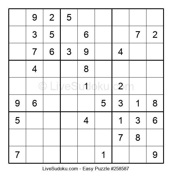 Beginners Puzzle #258587