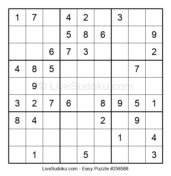 Beginners Puzzle #258588