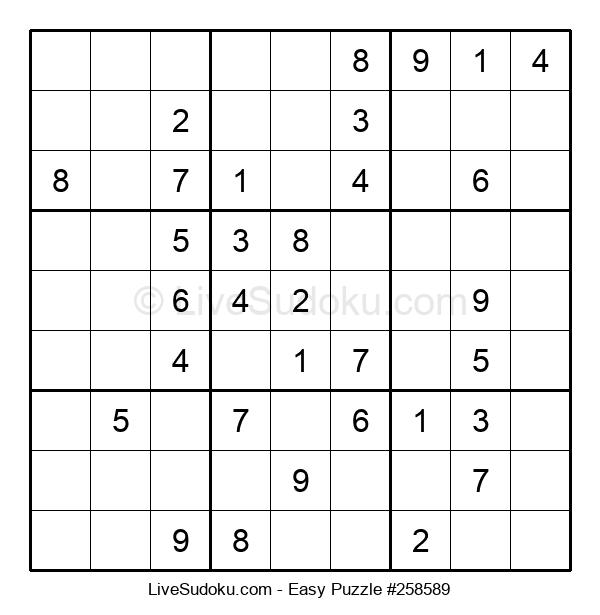 Beginners Puzzle #258589
