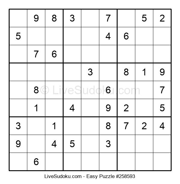 Beginners Puzzle #258593