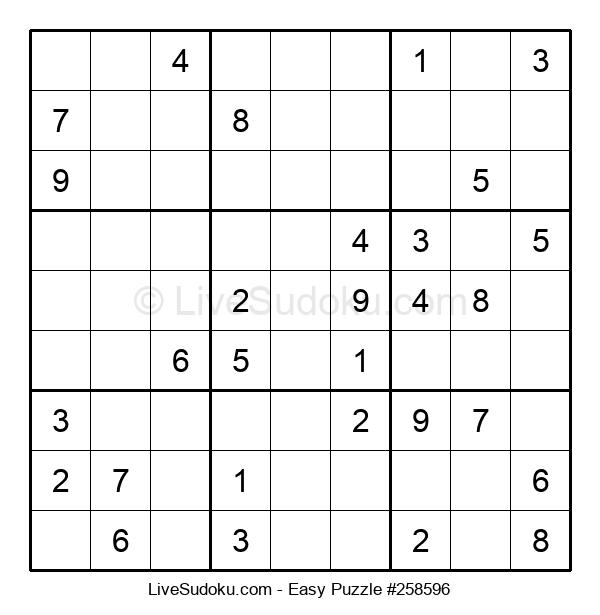 Beginners Puzzle #258596