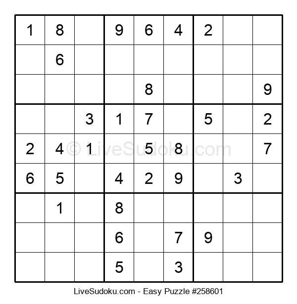 Beginners Puzzle #258601