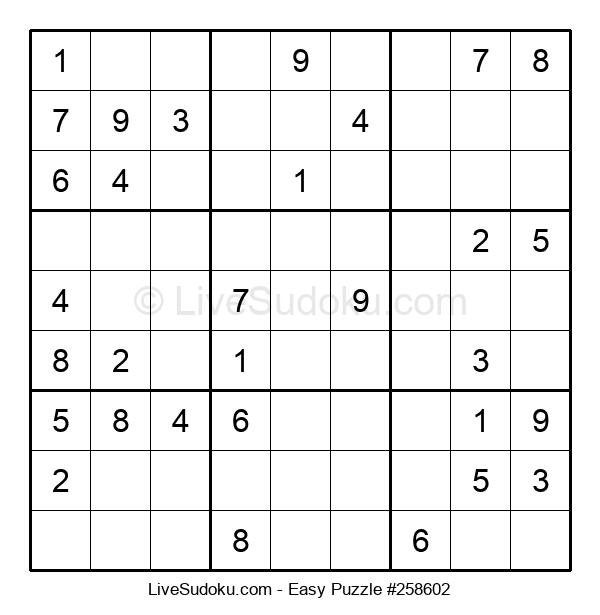 Beginners Puzzle #258602