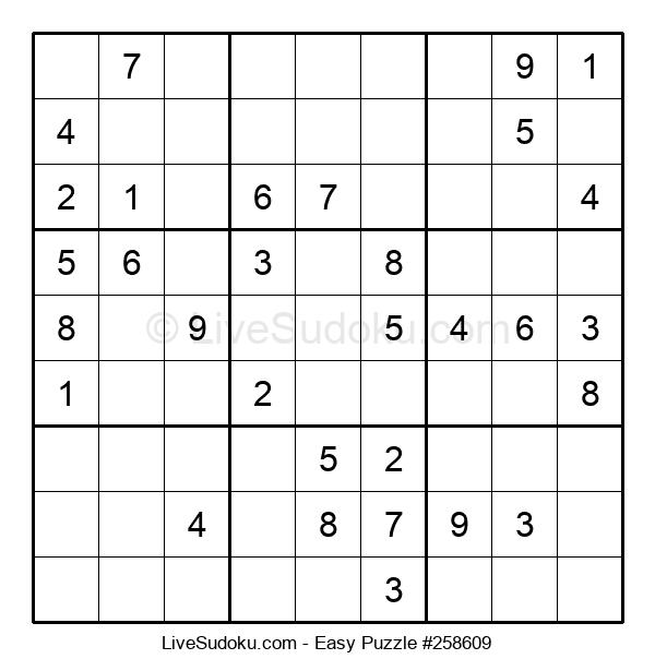 Beginners Puzzle #258609