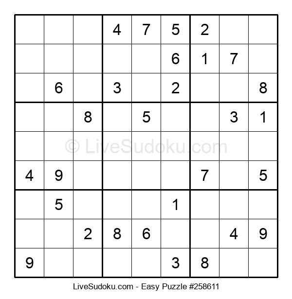 Beginners Puzzle #258611