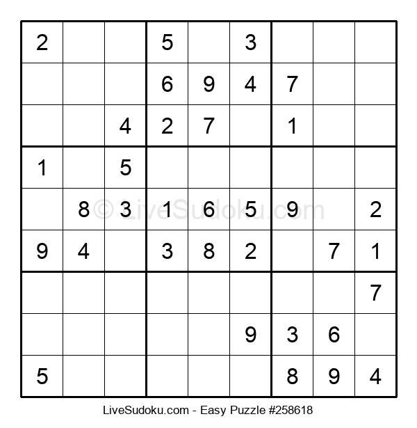 Beginners Puzzle #258618