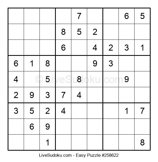 Beginners Puzzle #258622