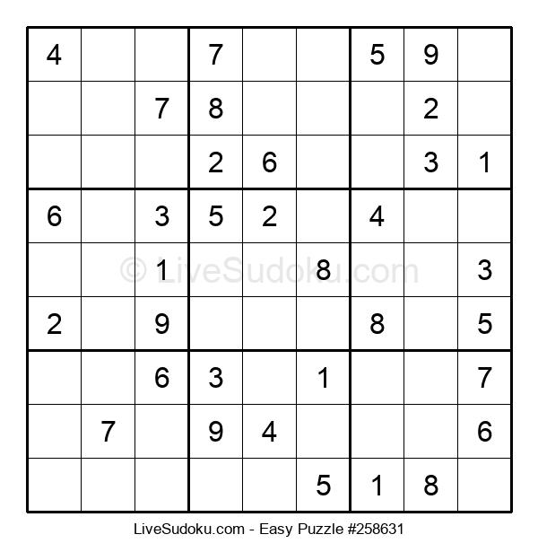 Beginners Puzzle #258631
