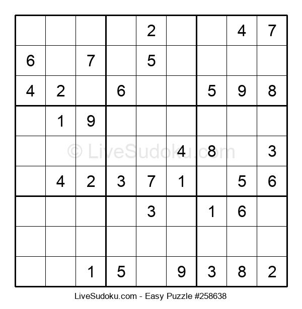 Beginners Puzzle #258638